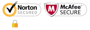 Secured Shopping - Norton - McAfee